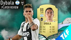 FIFA 20 - PAULO DYBALA (88) PLAYER REVIEW - YouTube