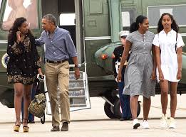 Image result for Barack and Michelle Obama leaving white house
