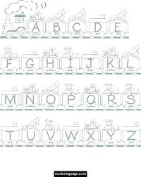Alphabet Coloring Pages A Z Alphabet Coloring Pages Alphabet