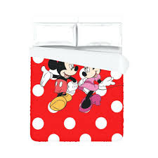 polka dot duvet cover mickey mouse dots black and white twin full size