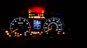 2009 Subaru Forester Brake Warning Light 2015 Subaru Forester Xt Eyesight Warning Lights Us Spec