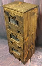 Primitive Kitchen Furniture Free Shipping Rustic Vegetable Bin Storage Cupboard