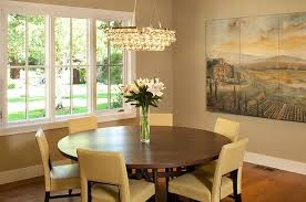 round dining table and chairs view in gallery dining room