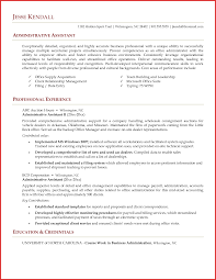 Best Of Admin Assistant Sample Resume Personal Leave