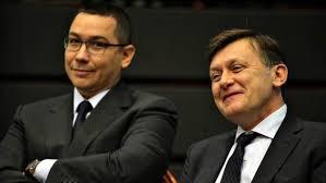 Image result for Ponta si Antonescu poze