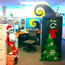 office cubicle decor ideas. Nightmare Before Christmas Decorate Cubical Contest Skellington Cubicle Decorations Desk Decoration Ideas For Diwali Office Decor