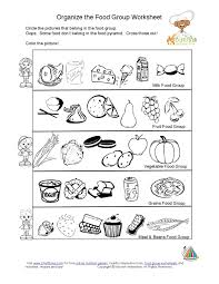 Small Picture kids food pyramid food groups learning nutrition worksheet K 5