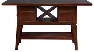 julian place chocolate rectangle counter height dining table