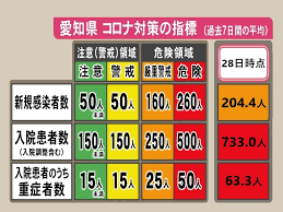 愛知 県 の コロナ 感染 者