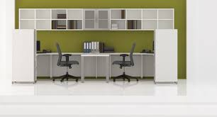 office desk with hutch storage. Quad Double \ Office Desk With Hutch Storage