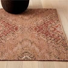 pel multicolor wool jacquard rug