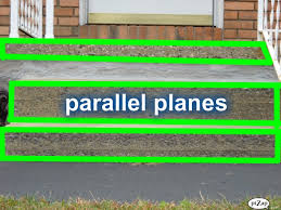 parallel planes in real life. intersecting lines and parallel planes in real life r