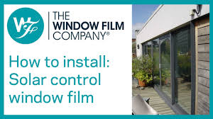 How To Install <b>Solar</b> Control <b>Window Film</b>. ☀️     <b>Solar</b> Film Fitting of ...
