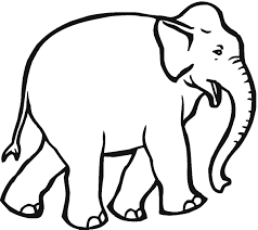 Coloring Pages For Kids Eliphant Printable Coloring Page For Kids