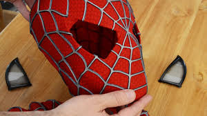 Magnetically <b>Removable Eyes</b> - Spider-Man Costume - YouTube