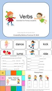 best images about verb activities action verbs this verbs activities package is aimed at first grade or esl students there are many
