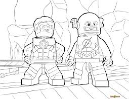 Lego Avengers Coloring Pages With Iron Man Also Kids Image Number