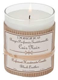 <b>Ароматическая свеча Perfumed</b> Candle Black Leather 180г ...