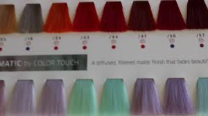 Wella Purple Colour Chart Wella Color Touch Relights 56 Red Violet Review