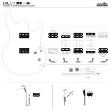 wrg 3991 wiring diagram for esp two pickup guitar esp pickup wiring diagram guitar diagrams resources com emg inside brilliant