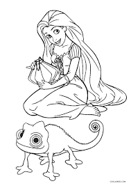 Tangled rapunzel princess coloring pages available for this special girls, for you fans of the disney animated cartoon would have known figure from the movie tangled, that's right she is princess rapunzel, a film about a beautiful princess and must suffer separation from their parents (queen and. Free Printable Tangled Coloring Pages For Kids