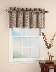 Window Valance For Kitchen Mallorca Spanish Tile Beaded Window Curtain Valance Curtainworkscom