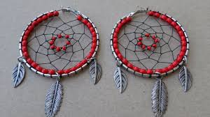 How To Make Your Own Dream Catcher How To Create Exotic Dream Catcher Earrings DIY Style Tutorial 97