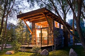 Small Picture Luxury Turnkey Tiny Cabin Combines Rustic And Modern Aesthetic