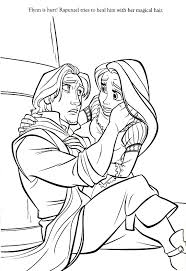 Small Picture Rapunzel Coloring Pages Tangled Free Coloring Pages For Kids