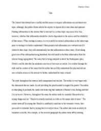 hamlet madness essay conclusion hamlet madness essay bartleby