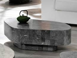 incredible stone coffee table design suitable to complete furniture set in the living room or
