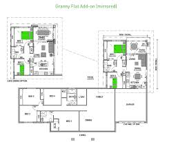 add on house plans inspirational granny flat building plans south africa with bedroom floor 2