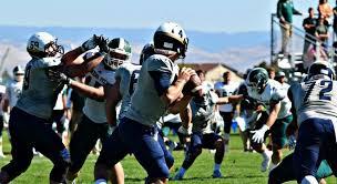 Zach Bartlow Football Eastern Oregon University Athletics