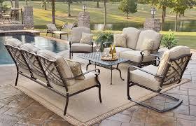 harmony club chair 507 metal patio