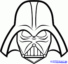 Small Picture How to Draw Darth Vader Easy Step by Step Star Wars Characters