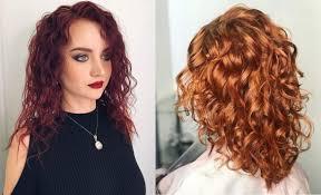 Módní účesy Pro Kudrnaté Vlasy 2018 2019 Fotografie Stylové Nápady