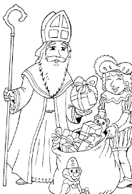Small Picture Saint Nicholas Coloring Pages GetColoringPagescom