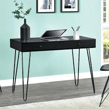 black writing desk com coaster home