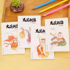 image is loading 4pcs cute notebook notepad cartoon diary book