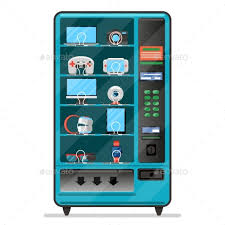 Vending Machine Electronics Impressive Vending Machine With Electronic Devices By Neyro48 GraphicRiver