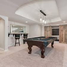 which carpet is best for a basement carpeting tips houzzbesting rustic furnishings under 199 rug under pool table