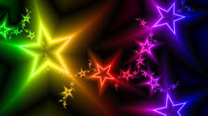 star ppt background stars rainbows powerpoint templates stars rainbows download image