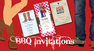 Barbeque Invitation Bbq Invitations