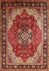 fine hand knotted tabriz persian carpet 1