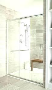 aqua glass showers showers aqua glass steam shower doors all in the details over seat dreamline aqua glass showers