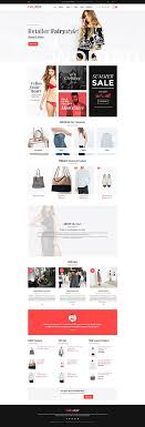 Business Website Templates Cool Retailer Fashion Style Online Store WooCommerce Template Themes