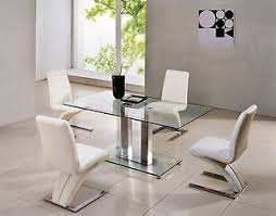 small rectangle glass dining table
