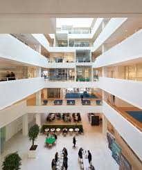 Microsoft offices design Vienna Microsoft Building By Henning Larsen Architects Dezeen Henning Larsens Bill Gates Inspired Microsoft Headquarters