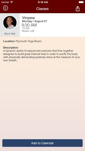 updated mi yoga room app not working