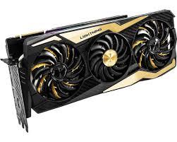 Rtx 2080 Ti Lighting Z Msi Geforce Rtx 2080 Ti Lightning Z 11gb Ddr6 352 Bit Graphics Card Display Port X3 Hdmi X1 Usb